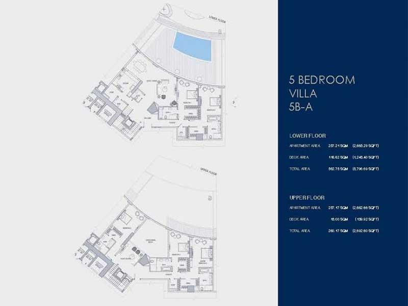 5 BEDROOM  VILLA  5B -A
